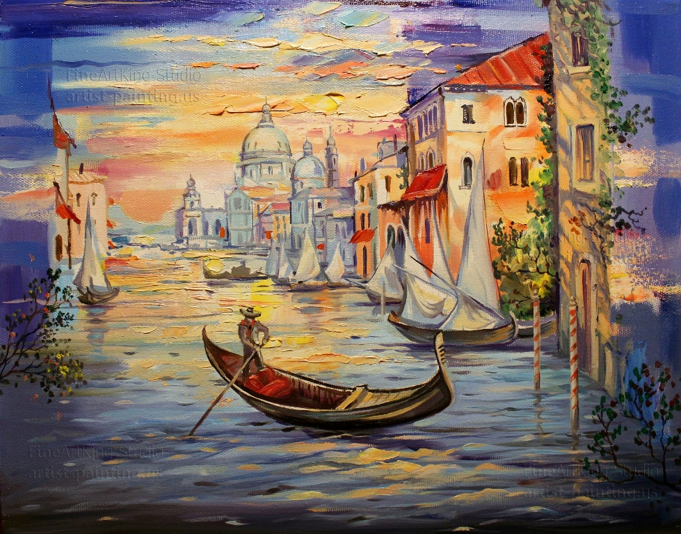 Morning in Venice - Original