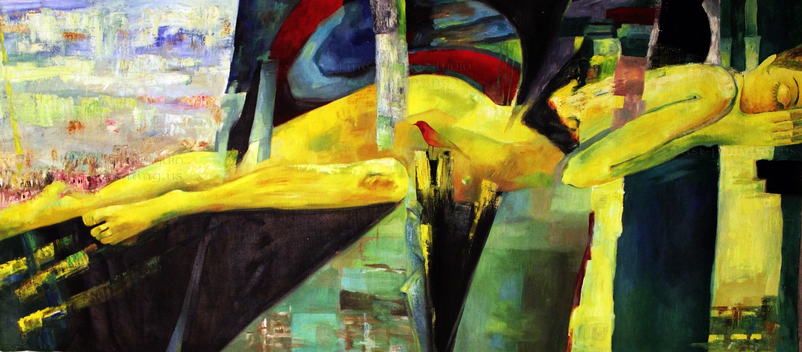 Cityasleep - fine art print - Original Contemporary Art