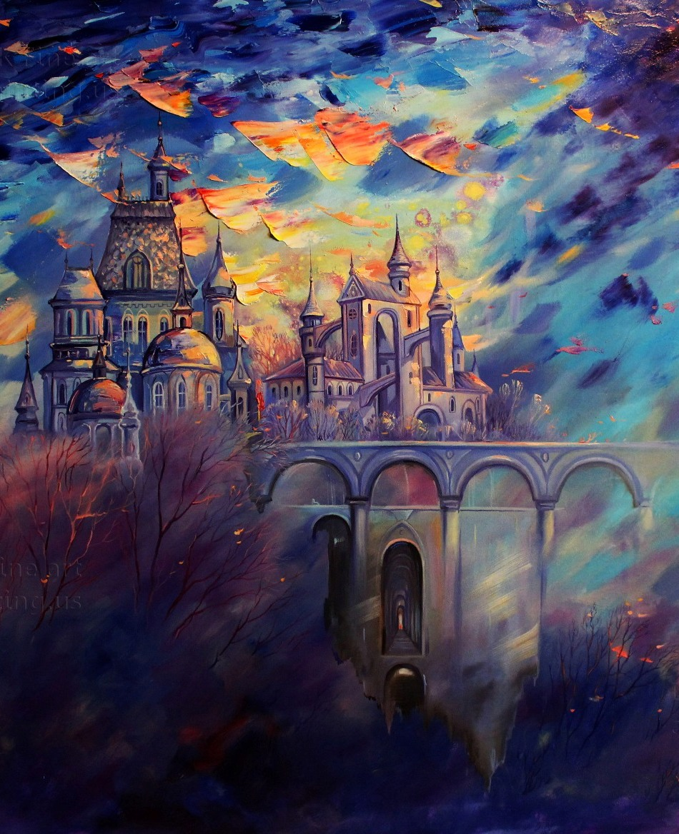 Fantasy and romantic painting