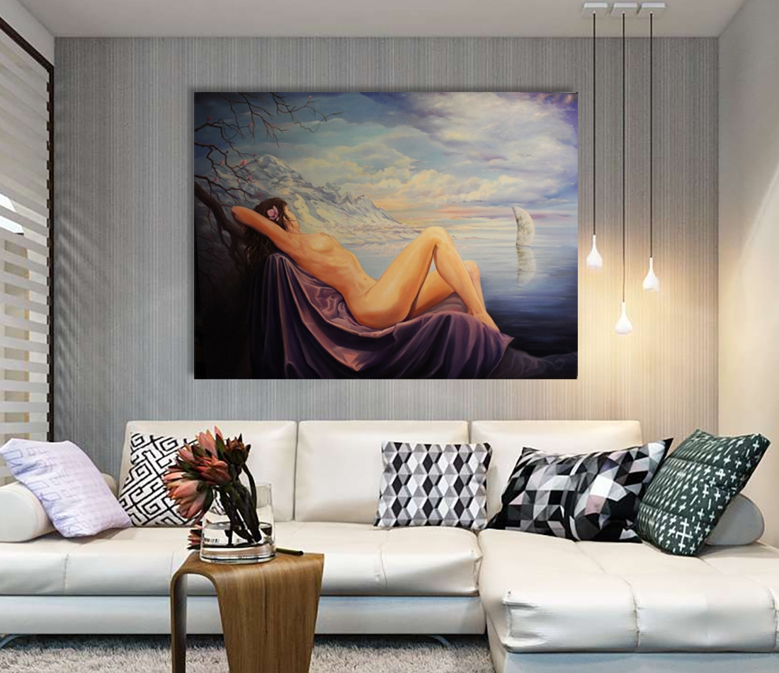 Dreams - Art print on canvas