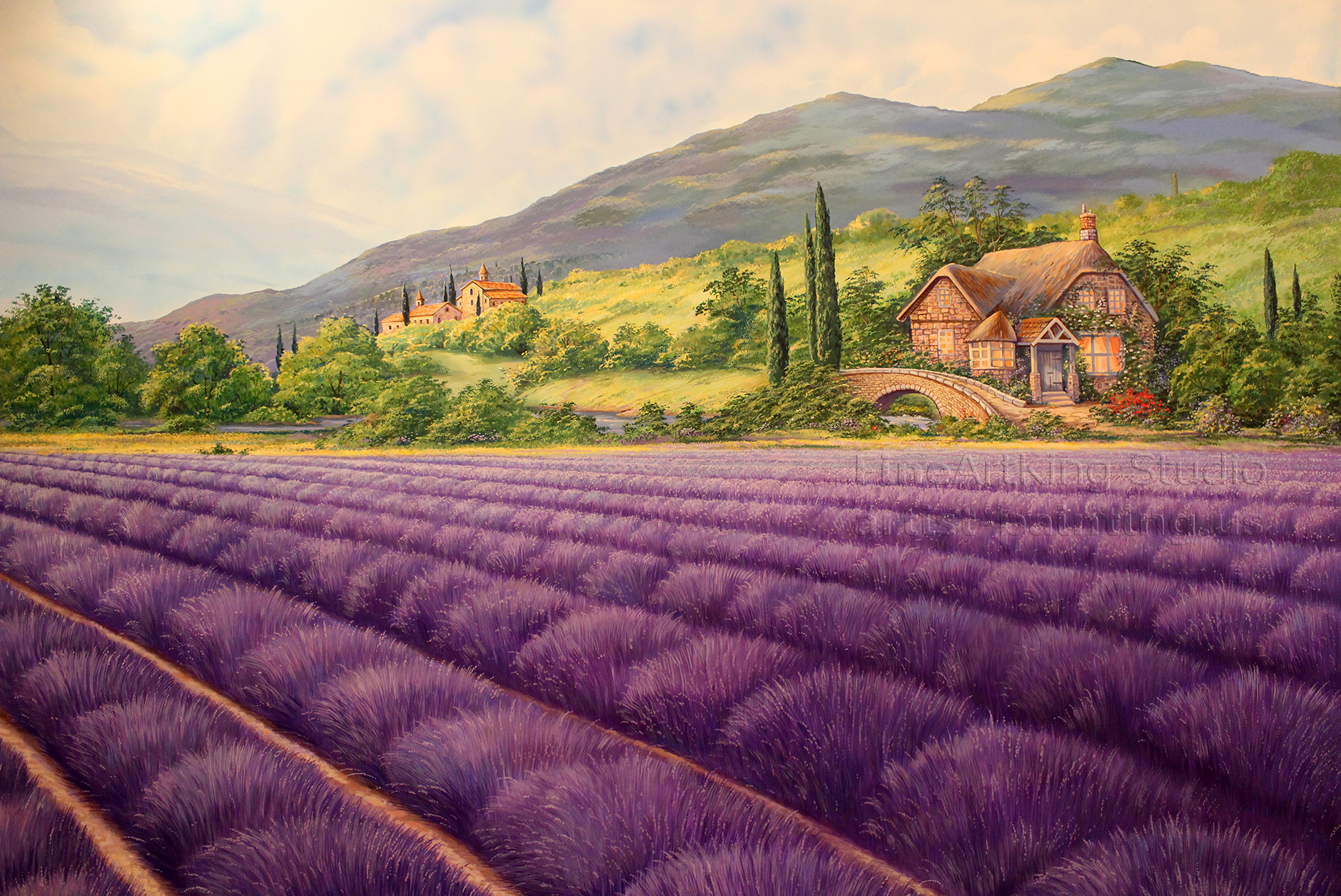 Lavender field - Original
