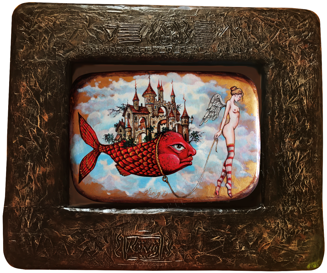 Imagination, magic and inspiration in the original Wood Art Panel